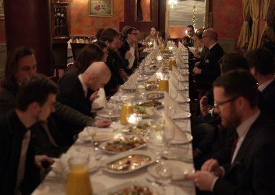 Uroczysta kolacja po finale Akademii