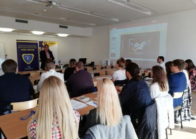 Szkolenie I w Lublinie 26.10.2019 - prelekcja Wiktora Ćwiklika